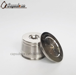 Image 2 - CAPSULONE fit for caffitaly coffee Machine reusable capsule wacaco minipresso CA  Maker refillable capsule in coffee filter