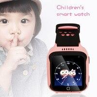 M05 pozycjonowanie w czasie Rzeczywistym GPS GPRS Tracker Lokalizacja Połączenia SOS Remote Camera Monitor Latarka Zegarek Na Rękę dla Dzieci dziecko