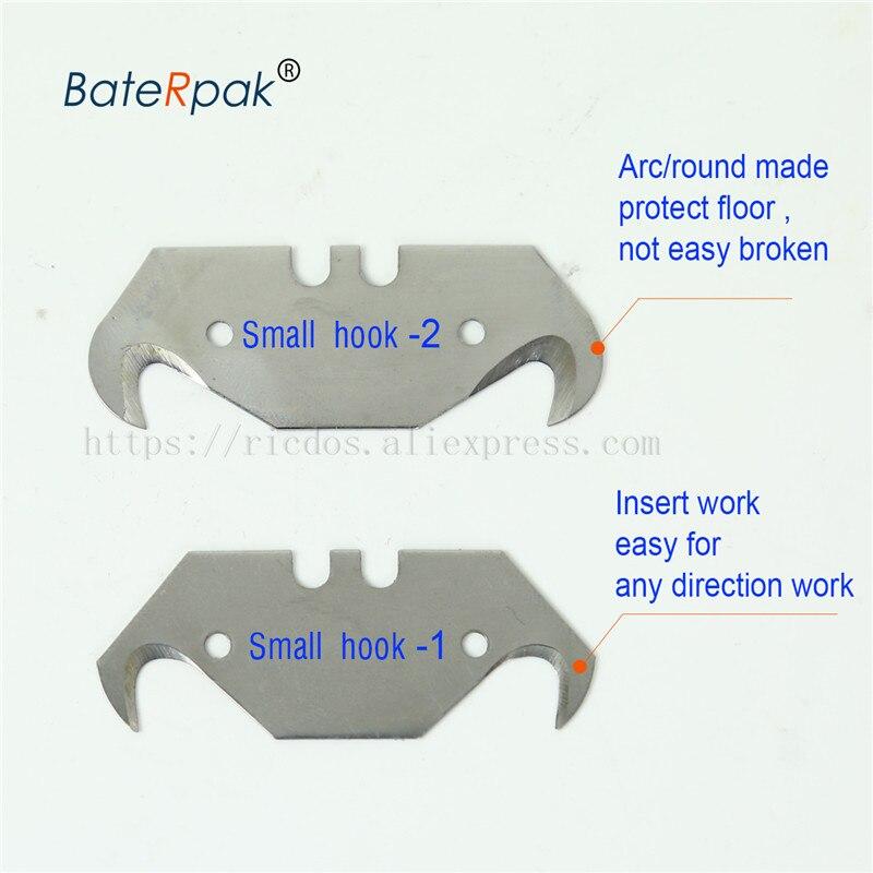 BateRpak Dolphin alakú PVC padlóvágó kés, cink-alumínium - Kézi szerszámok - Fénykép 5
