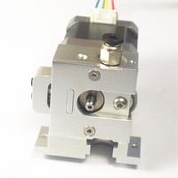 Funssor All Metal BullDog Lite direct extruder 1.75mm with hotend mount plate for DIY RepRap Prusa Mendel 3D printer NO Motor