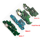 5 Pcs/lot New Dock Connector Charging Port Flex Cable For Huawei P9 Honor 8 Lite Mate 7 8 9 Honor 5c 5A USB Flex Cable