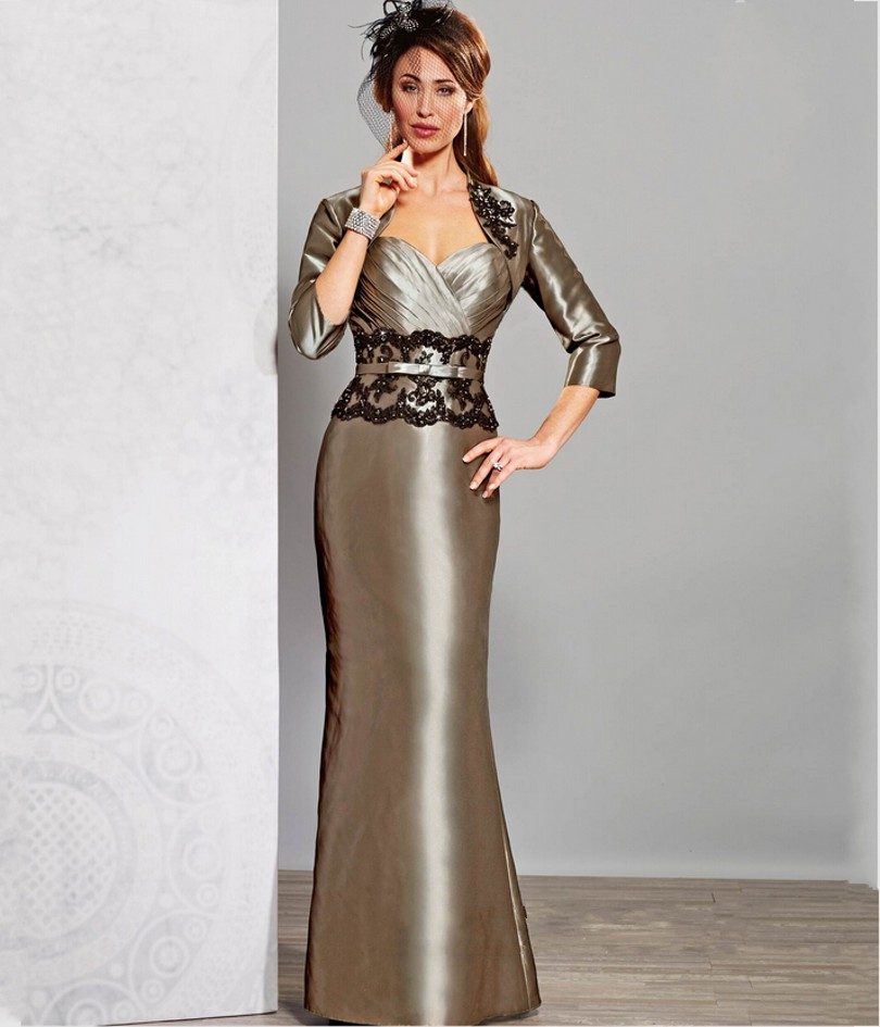 Mother of The Bride Dresses Plus Size with Jacket Promotion-Shop ...