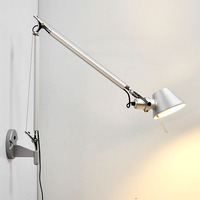 Retro Loft Industrial Vintage Led Wall Lamp Light With Long Arm Sconce Indoor Decoration Bar Restaurant