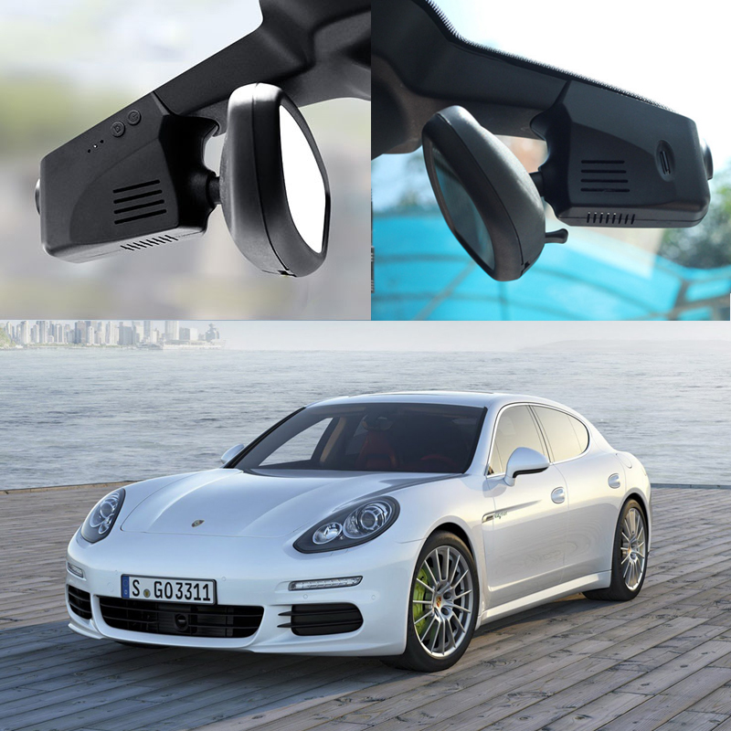 YESSUN For Porsche Panamera Driving Recorder Car Dvr Mini Wifi Camera Video Full HD 1080P Car Dash Cam Original Style Black Box bigbigroad for ford mondeo 2015 high configuration car wifi dvr video recorder dash cam car black box keep car original style