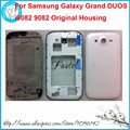 For Samsung Galaxy Grand DUOS i9082 9082 Black/White New High Quality Full Phone housing cover case+Buttons+Tools, free shipping