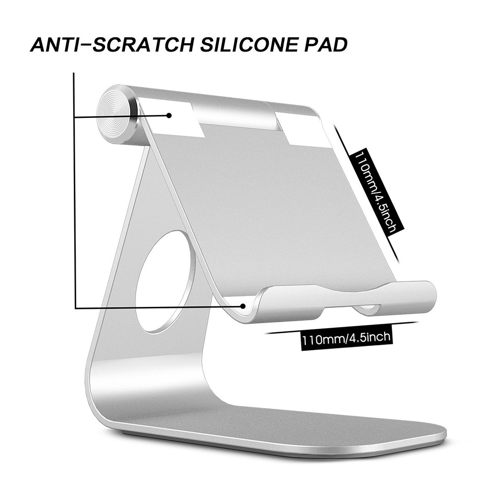 Portefeuille For iPad Pro Tablet Stand Adjustable Aluminum Metal Phone Holder For iPad Air 2 Samsung Tablet Soporte Accessories (4)