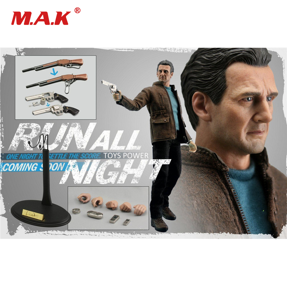 1/6 Scale Full Set Liam Neeson Action Figure Run All Night Bryan Mills CT005 Movable Colletible Figures Toys for Gift 1 6 scale full set male action figure kmf037 john wick retired killer keanu reeves figure model toys for gift collections