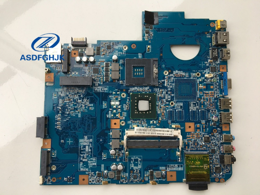 For font b Acer b font aspire 7540 Laptop Motherboard MBPPQ01001 MB PPQ01 001 JV71 TR8
