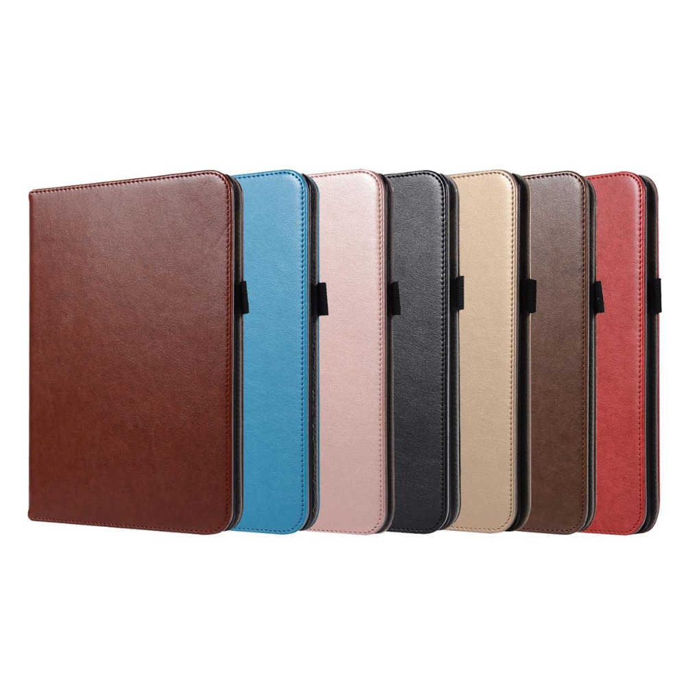 Card Slot Tablet Case For IPad Mini 4 7.9 Inch Smart Sleep Wake Up Handheld Hand Care Leather Case