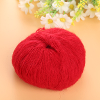 Luxury Angola Mohair Cashmere Wool Yarn Skein Lot 100g 6 Colors Baby Handmade Supplies High Quality