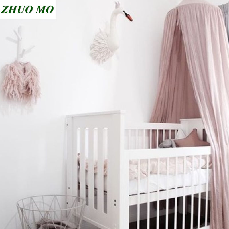 New Kid Baby Bed Canopy Bedcover Mosquito Net Decoration travel camping Curtain for Children Girls boys home Bedding Room Decor