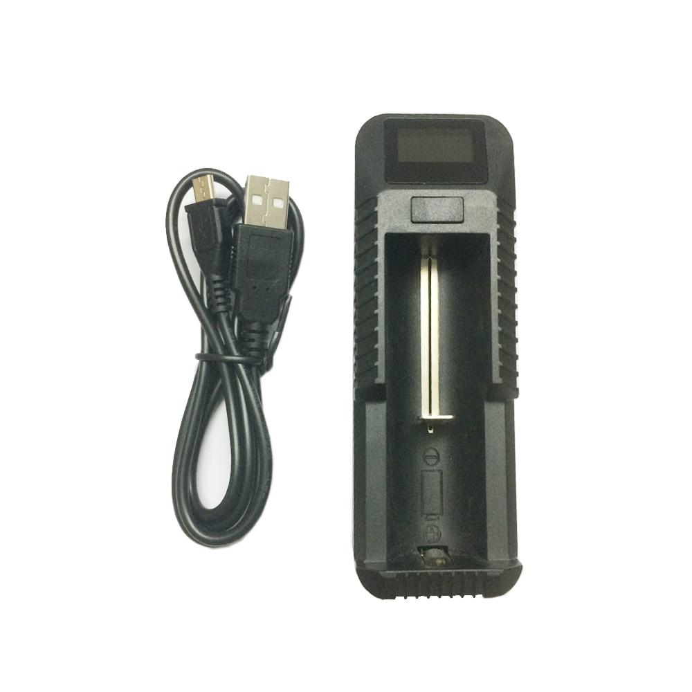 USB Батарея Зарядное устройство с ЖК-дисплеем Мирко USB для 26650 18650 18500 18350 17670 14500 10440 литиевая батарея 3.7 4.2 В