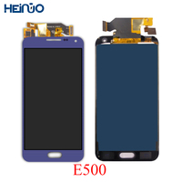 5.0 LCD for SAMSUNG Galaxy E5 E500 E500M E500F E500H LCD Display Touch Screen Panel tela Digitizer Assembly Replacement parts