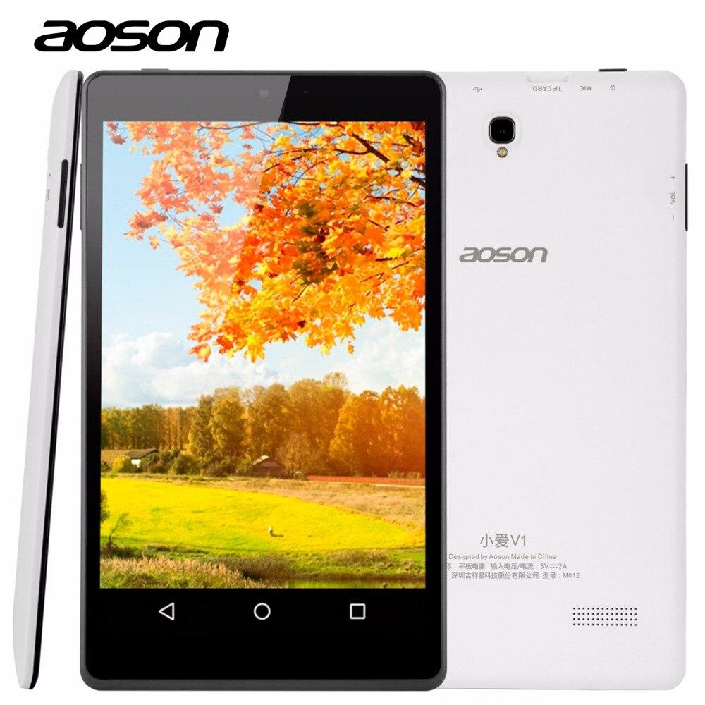 Nuevo aoson m812 8 pulgadas hd tablet pc a33 quad core 1280x800 lollipop HD IPS