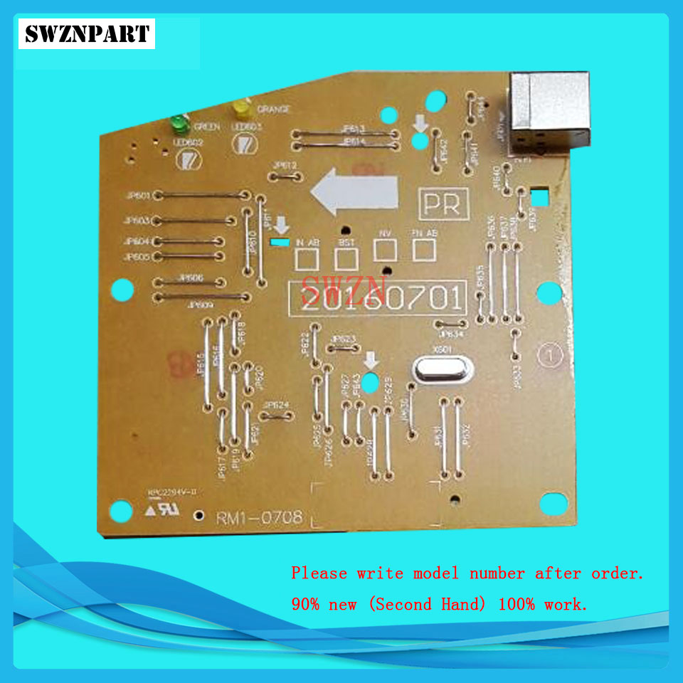 FORMATTER PCA ASSY Formatter Board logic Main Board MainBoard mother board for HP P1005 P1007 1005 1007 RM1-4607-000 RM1-4607 rm1 2365 feed drive board assy paper pickup pcb for hp cm4730