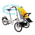 Ciclismo travling taga madre cochecito de bebé triciclo bicicleta cochecito