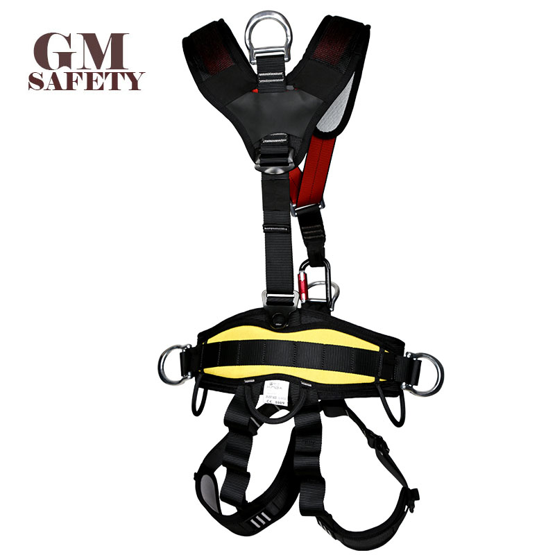 Body Safety Belt for High Altitude Operation Rock Climbing Rescue Body Safety Harness Comfortable Safe Rock Climbing Equipment - 2