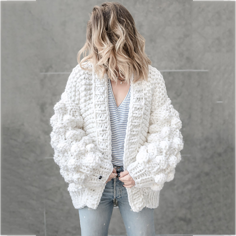 2018 Spring women s Long style Cardigan Sweater 5XL Handmade Crochet  braided Sweater Fashion Gray lady in spring Sweater e83a7aa1c