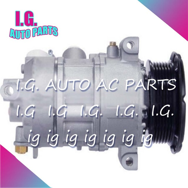 A/C AC COMPRESSOR FOR CAR JEEP COMPASS FOR CAR DODGE CALIBER 1.8 2.0 447190-5054 447190-5050 447190-5056 55111423AG 447190-5053