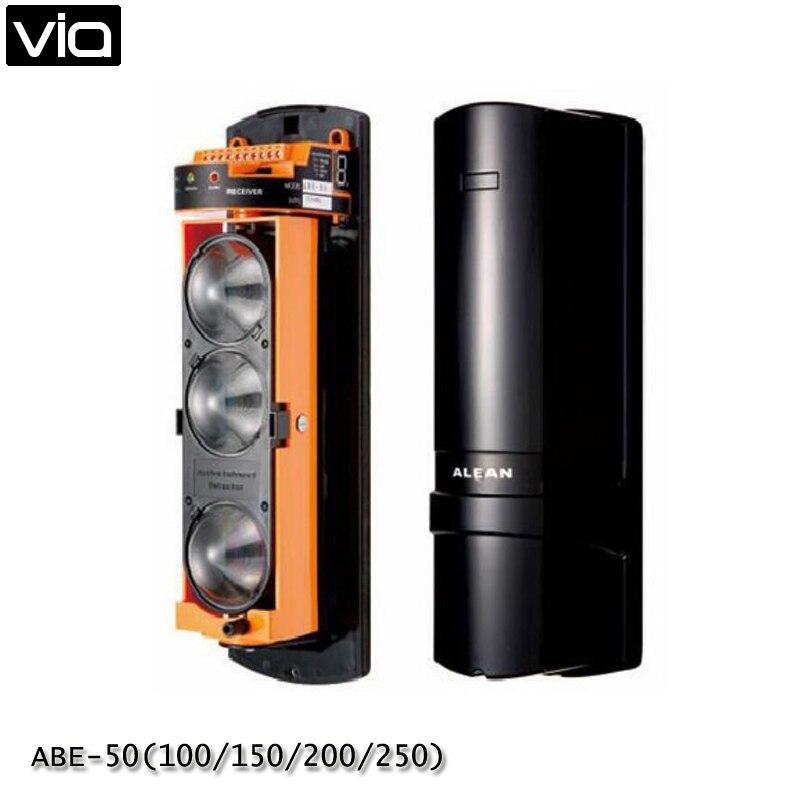 VIA ABE-50 (100/150/200/250) fotoelektromos 3 gerendás érzékelő - Biztonság és védelem