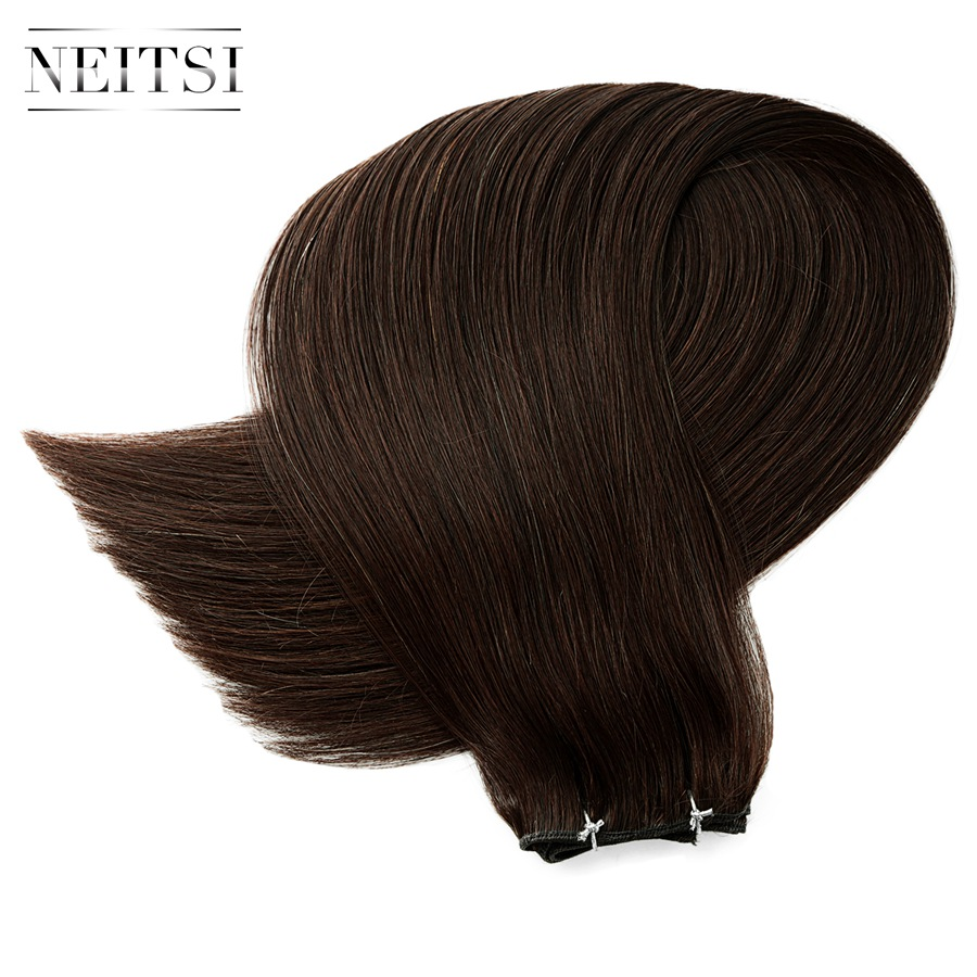 Neitsi Straight Remy Extension de cheveux humains 16