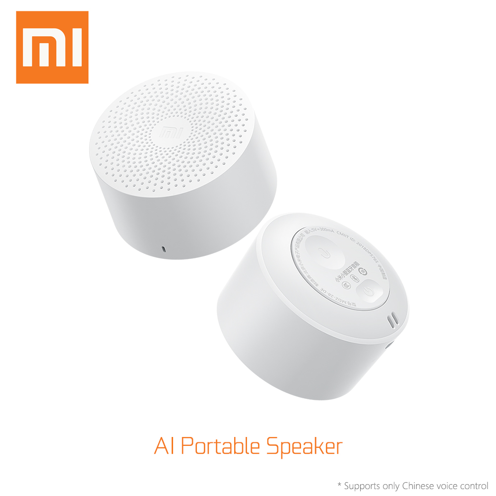 AI Bluetooth Speaker Portable Mini Sports Music Audio Speaker Life Waterproof Fashion Small Speakers AI Speaker