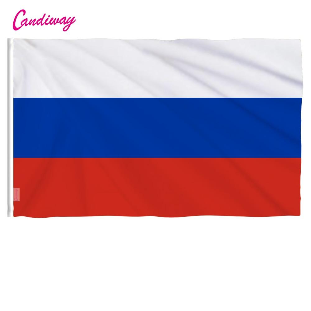 Oriflex 90x150 мм волна Россия 3x5 футов супер-поли Крытый/Открытый российский флаг баннер со страной рождественские подарки