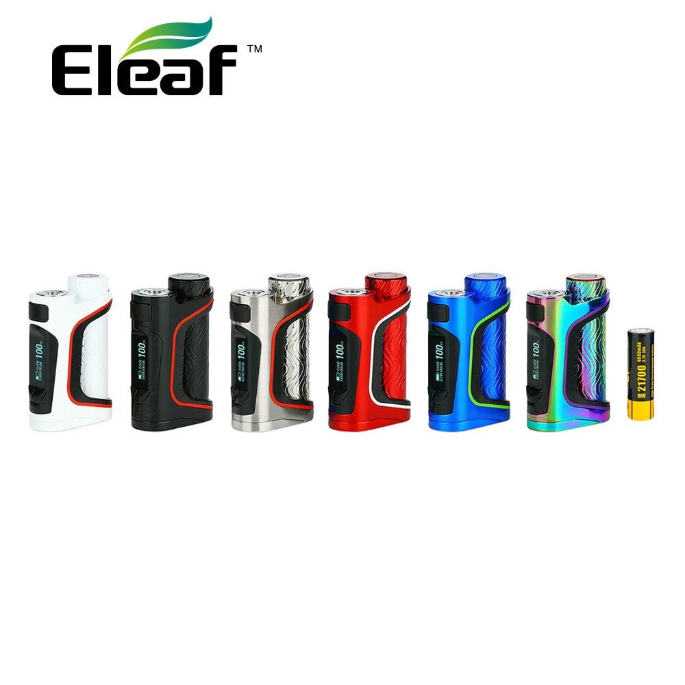 New Original Eleaf iStick Pico S 21700 100W TC Box MOD W 4000mAh 21700 Battery Output