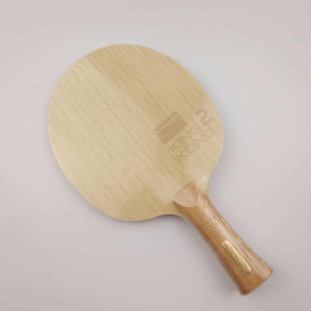 Limited Edition Sanwei KING KONG 2 KINGKONG 2, 5+2 Carbon, Cypress Handle OFF+ Table Tennis Blade Ping Pong Racket Bat