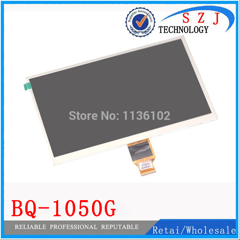 New 10.1 inch LCD Display Matrix BQ-1050G BQ 1050G Tablet 1024*600 TFT LCD Screen Replacement Panel Parts Free Shipping