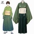 Бесплатная Доставка Touken Ranbu Онлайн Ishikirimaru Косплей Аниме Японские Кимоно Мужчины Косплей Костюм