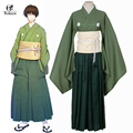 Envío Libre Touken Ranbu Ishikirimaru Online Cosplay Anime Japonés Kimono Hombres Traje Cosplay