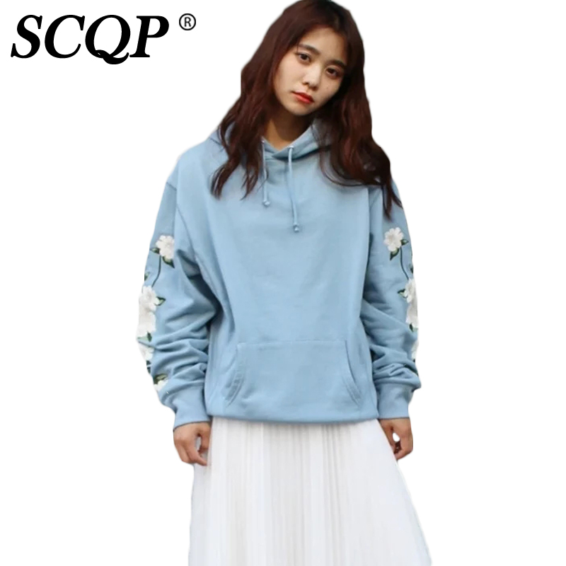 Aliexpress buy scqp floral embroidered black