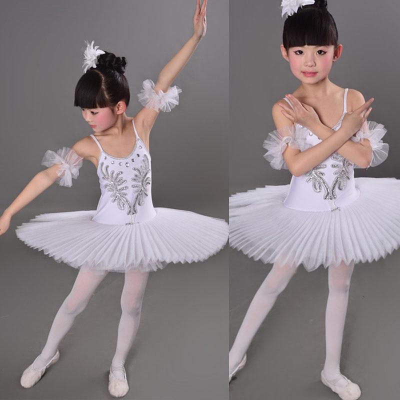 3 цвета, синий, красный, белый детский лебедь, детский балетный костюм танцевальный костюм для сцены, профессиональное балетное платье-пачка для девочек