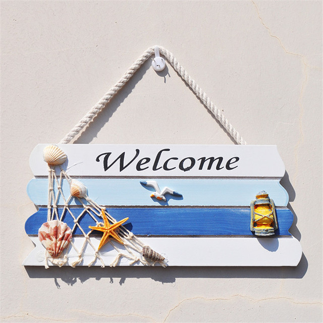 Mediterranean Style Welcome Sign 2