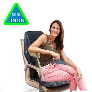 Image 3 - LINLIN Car Home Office Full Body Massage Cushion.Heat Vibrate Mattress.Back Neck Massage Chair Massage Relaxation Car Seat 12V