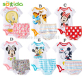 Free shipping 2016 baby boys/ girls jumpsuits Cartoon jumpsuits +triangle pants2pcs Baby summer suit 6 designs