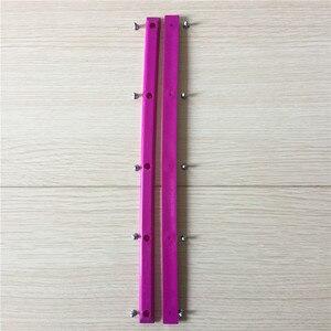 Image 2 - Gorąca sprzedaż twardy PVC Skate szyny ochronne ulica deskorolka szyny do ochrony ciężarówki deskorolka