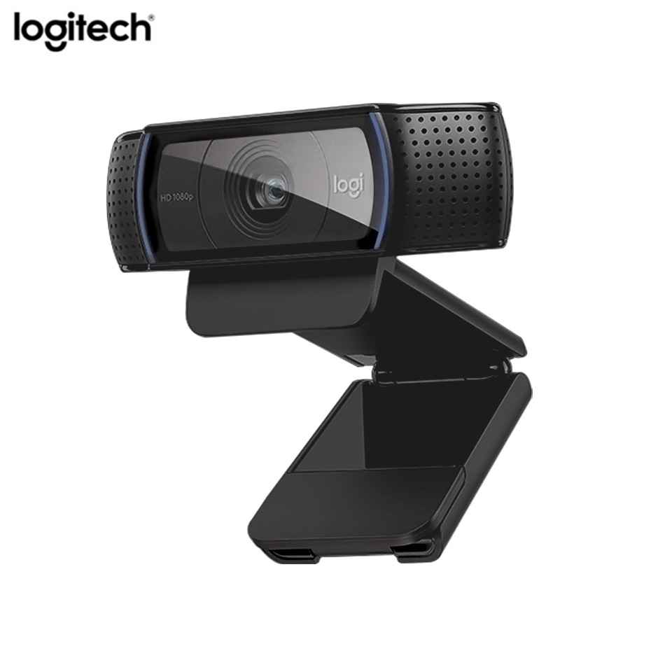 Logitech C920e hd Webcam Video Chat Recording Usb Camera HD Smart 1080p Web Camera for Computer
