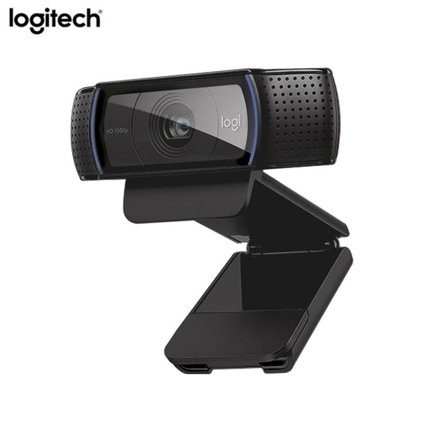 Logitech C920e เว็บแคม hd Video Chat การบันทึก Usb กล้อง HD 1080 p กล้องเว็บสำหรับคอมพิวเตอร์ Logitech C920 อัพเกรดรุ่น