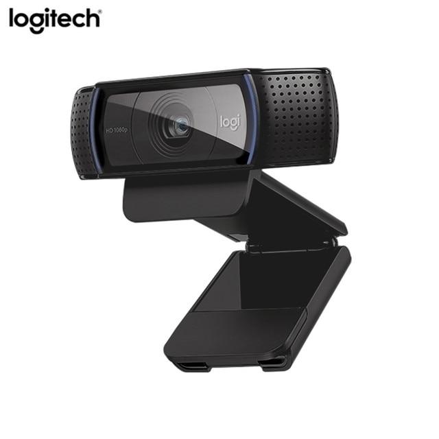 Logitech C920e hd Webcam Video Trò Chuyện Ghi Âm Usb Máy Ảnh HD Thông Minh 1080 p Web Camera cho Máy Tính Logitech C920 nâng cấp phiên bản