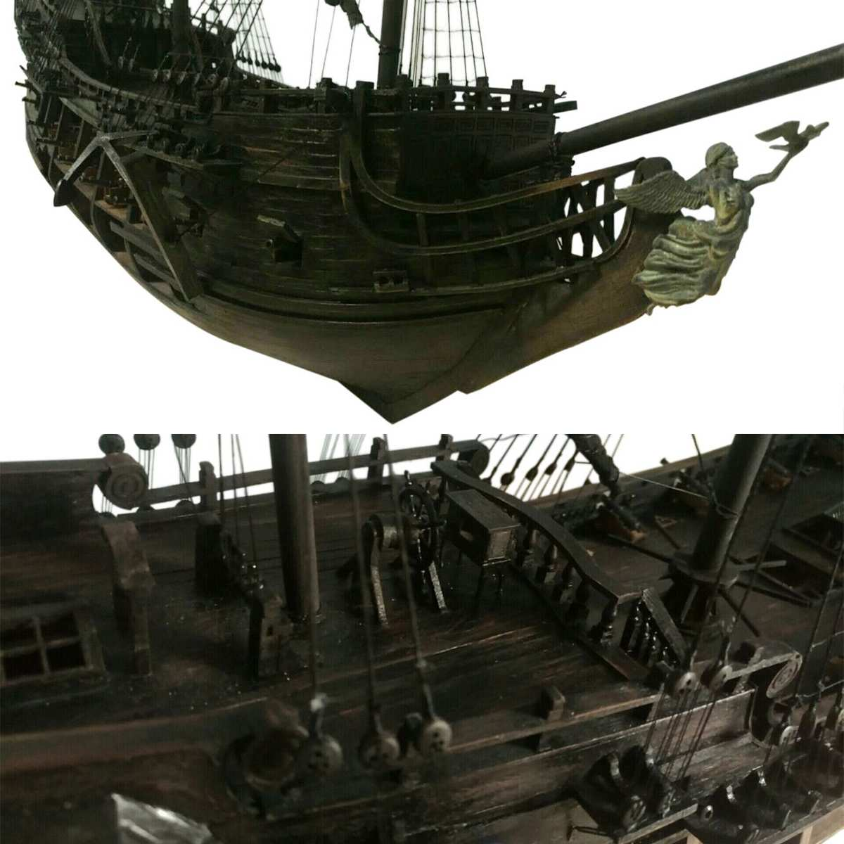 1:50 DIY De Black Pearl Model Schip Kits Voor Gift Voor s Van De Caribbean Diy Set Kits Montage Boot speelgoed model kit - 3