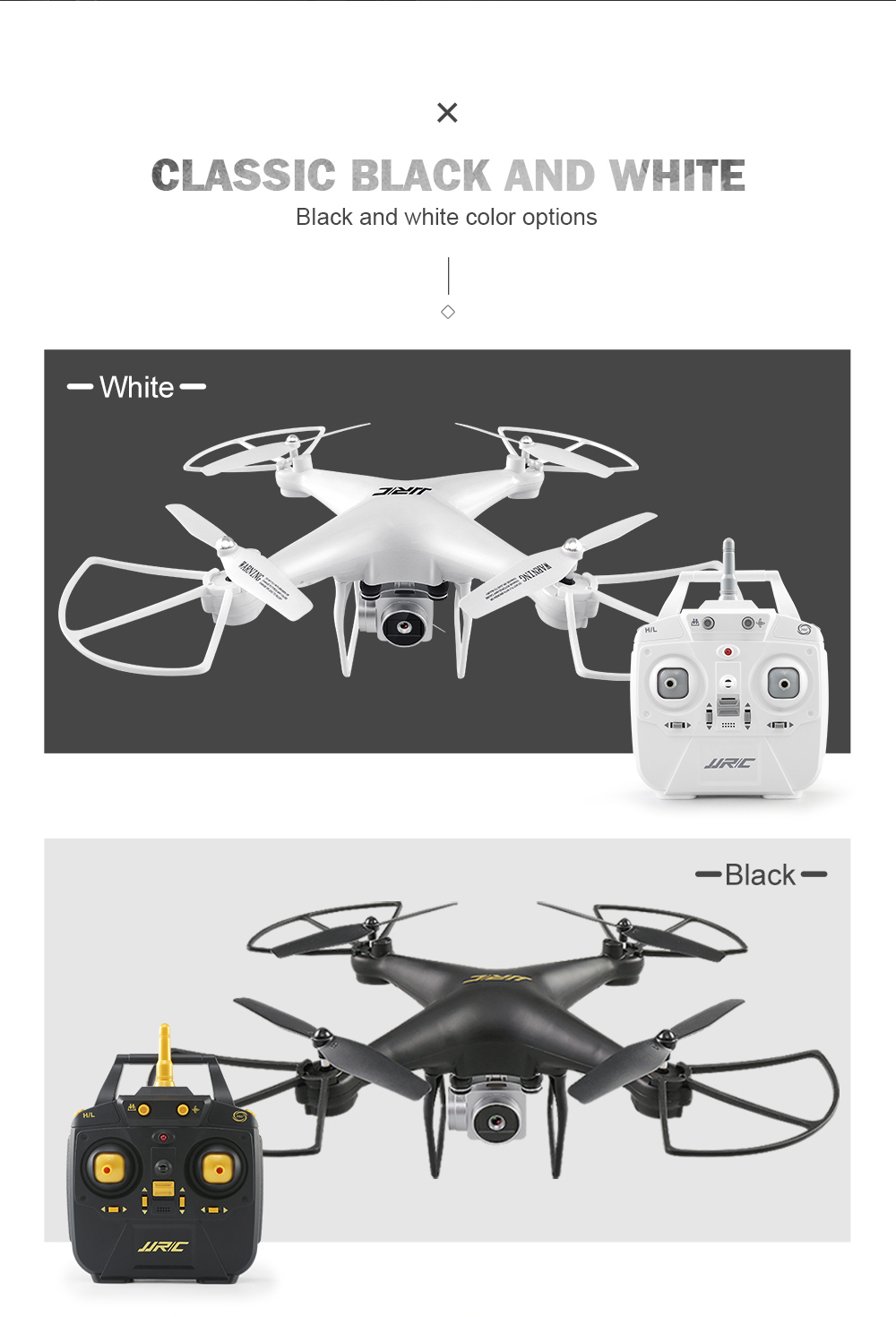 H68 Bellwether Quadcopter with Camera Drone Wifi FPV Altitude Hold ...