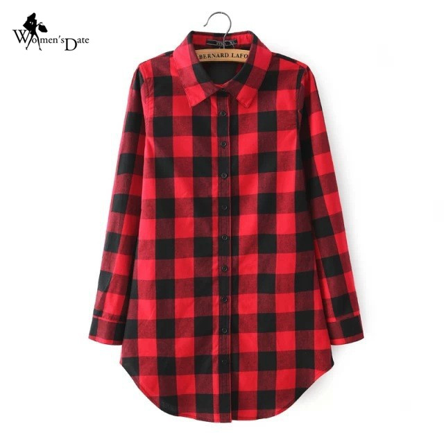 Red Black Checked Shirt for Women Promotion-Shop for Promotional ...