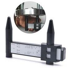 4 5 6 8 Holes Lug Wheel Bolt Pattern Gauge Quick Measuring Measurement Hand Tool цена