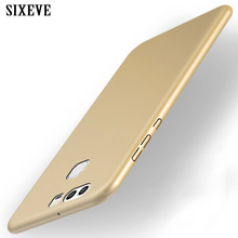 SIXEVE For Huawei P8 P9 P10 Lite Plus Case Luxury Hard Plast