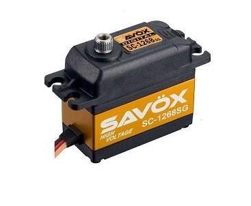 SAVOX SC-1268SGTORQUE HIGH VOLTAGE DIGITAL RC SERVO 25KG 7.4v savox sc 1256tg high torque titanium gear digital steering coreless servo 20kg 63027
