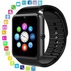 ①  GT08 Смарт Часы Часы Синхронизация Уведомления Поддержка Sim TF Карта Bluetooth Связь Android Телефо ✔