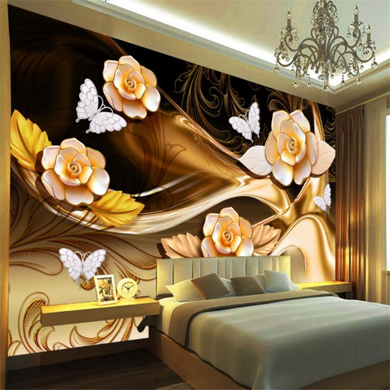 Painting Supplies & Wall Treatments Trustful Customize Any Size 3d Mural Wallpaper Tropical Plant Living Room Room Background Wall Wallpaper For Walls 3 D Behang Beibehang
