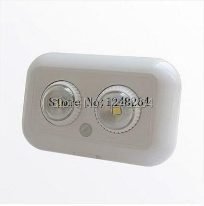 ФОТО Family intelligent control light bulb Led human body induction lamp battery electric adjustable optical switch